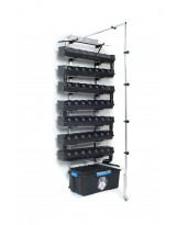Vertical hydroponic system - one wall large - 1SV  without light
